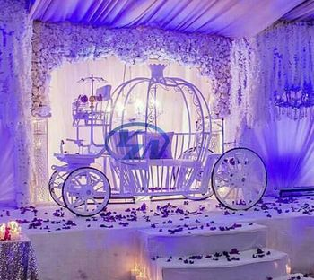 Pony decoration pumpkin wedding carriage wagon for sale