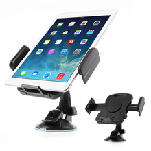 Universal 360 Degree Rotating Tablet PC Car Holder Mount in 7 - 11 inch