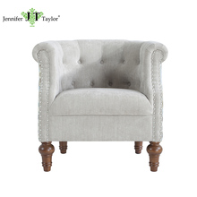 New classic living room furniture/wood furniture french style armchair/easy chair