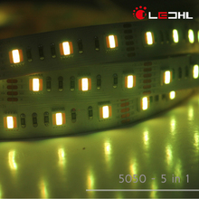 CE RoHS RGBWWW Waterproof IP65 High Lumen SMD5050 REFOND 16.8W 24VDC LED Flexible Strip Light