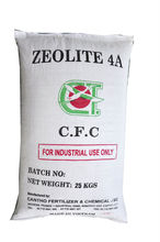 Zeolite 4A for detergent, plastic, paper chemicals