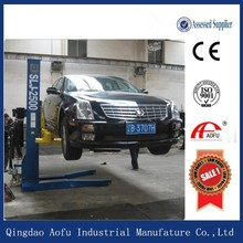 Two Level 4 Post Parking Lift/ double stack parking system/ hydraulic car park lift