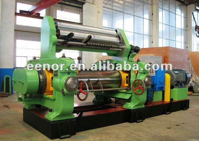 XK-560 Type Rubber Mixing Machine / Two Roll Mill
