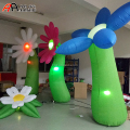 Beautiful Inflatable Flower Group Standing Inflatable Daisy