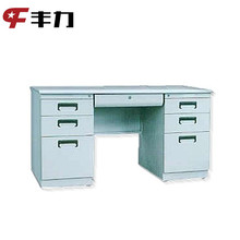 Knock Down Structure Metal Office Table for Sale