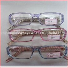 indoor fashion high quality spectacle frame,reading glasses