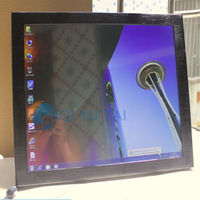 Outdoor use 17 inch all in one touchscreen pc white