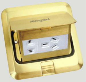 hidden desktop socket/ Schuko / HDMI / RCA/ rj45 / USB / VGA / 6.35mm Audio etc. for conference table