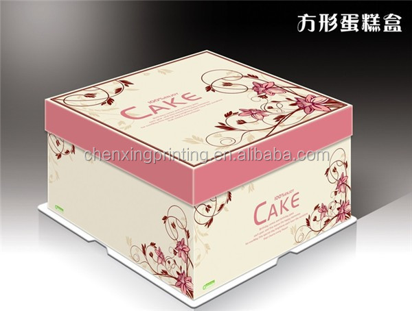 packaging box for cake,cupcake box,take out box