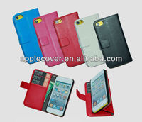 For iPod Touch 5 Wallet Leather Case
