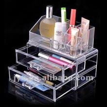 home decorative acrylic drawer storage box