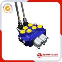 5017R 12v solenoid operated electric 4 way directional monoblock control valve