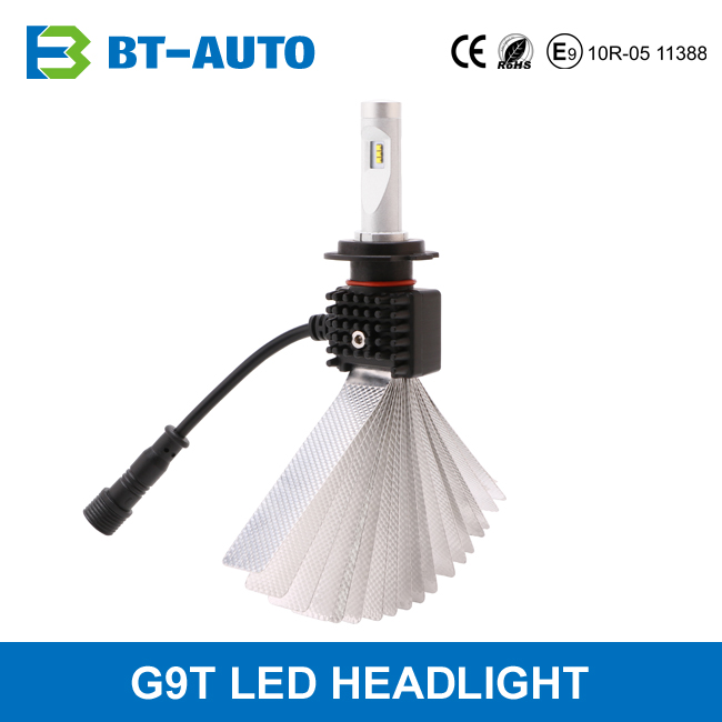 Patent Design High Power Car Headlight Canbus H7 Led Headlight Bulbs