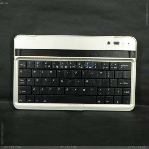 for apple iPad Mini Aluminum Wireless Bluetooth Keyboard P-iPDMINIBTHKB001