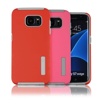 C&T Slim Armor Heavy Duty Dual Layer Durable Hybrid Shockproof Phone Cover for Samsung Galaxy S7 Edge