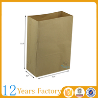 for fried food carrying craft paper popcorn bag