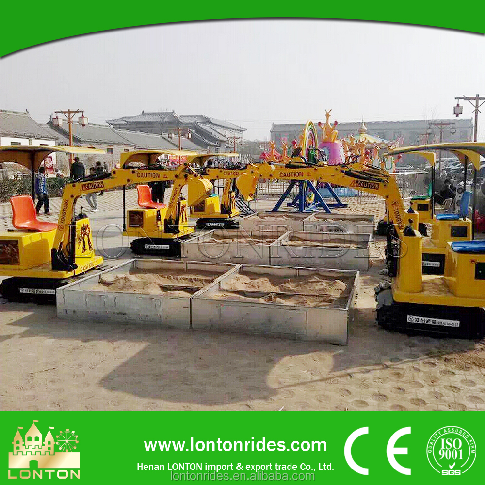 park amusement children's <strong>game</strong> rides small mini excavator for sale