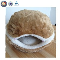 QQFactory High Quality Detachable Hamburger Pet House / Dog Beds / Cat Beds