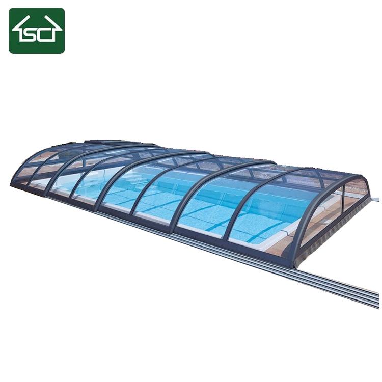 Teras Rumah Dak Cor hard plastic automatic retractable swimming pool cover buy swimming pool cover retractable pool cover pool cover product on alibaba com