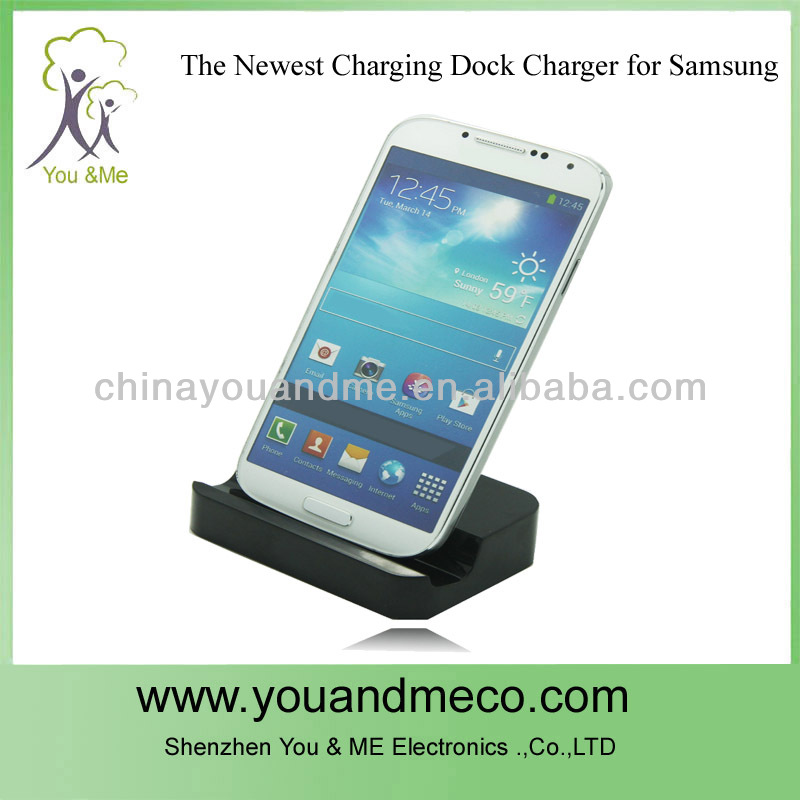 colorful android docking charger for the cellphone usb charging dock station for samsung
