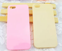 Hot Selling Candy Color Plastic Hard Cover For iphone 5/5S Hard Protective Skin Case