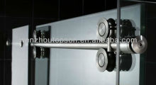 Double roller sliding shower door