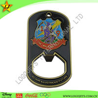 Promotional Gifts Personalized Keychain Metal Bottle