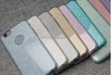 Wholesale multi function design glitter tpu pc combo mobile phone case cheapest back cover for iphone 5 6 6s 7 plus
