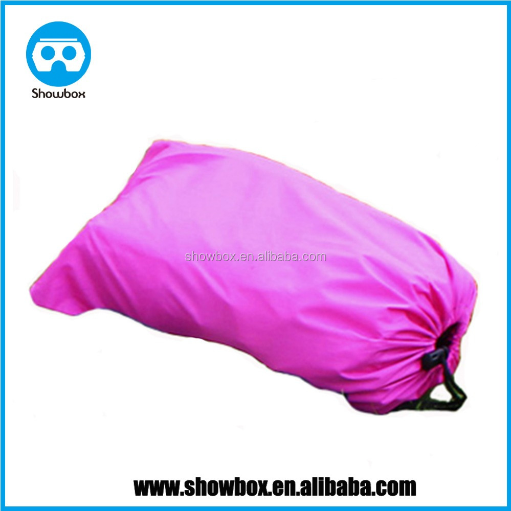 Fast Inflatable Laybag Hangout Air Sofas Camping Sleeping Bag Beach Sofa Lounger Bed Banana Lazy bags wholesale in China