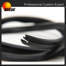 EPDM sealing industrial profile extrusion, plastic extrusion profile, neoprene rubber extrusions