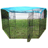 New design metal dog playpen