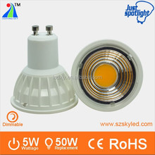 2016 new design 5W cob led spotlight with CE certification