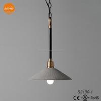 Vintage industrial edison decorative cement pendant light hanging fixtures S2100-1