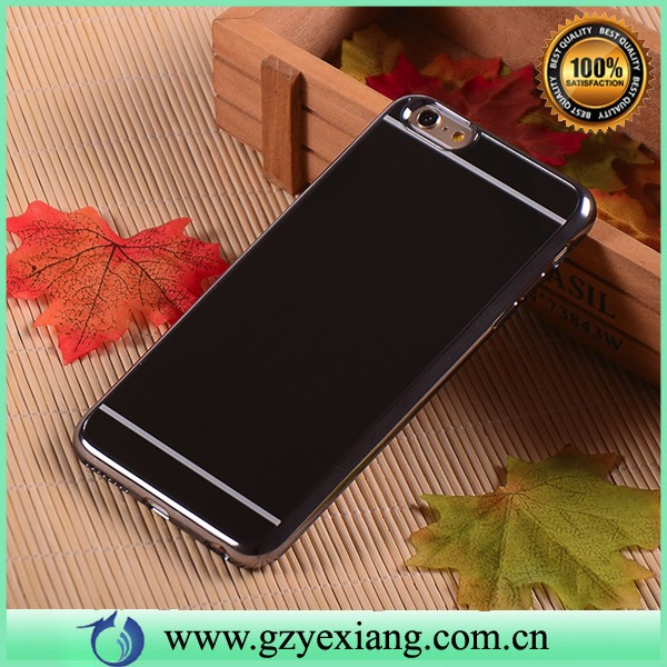 luxury gold chrome case for samsung galaxy s4 tpu bumper mirror back cover