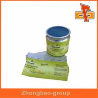 Top sale ! manufacturer custom plastic shrink wrap bottle labels for hair care product in china
