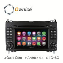 Newest Quad Core Pure Android 4.4 & Android 5.1 Car Multimedia system for Benz B200 A Class B Class Support rear camera DVR