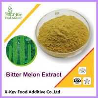 Organic Bitter Melon Extract For Tea Juice Capsules 10% Charantin