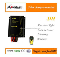 Waterproof PWM 10A 12V solar LED street light charge controller with timer