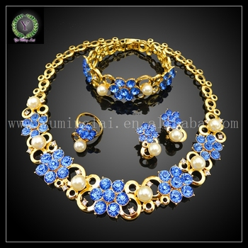 Hot Sale African REAL 24K GOLD PLATED Jewelry Set Wedding Jewelry set Big Jewelry set EHK247