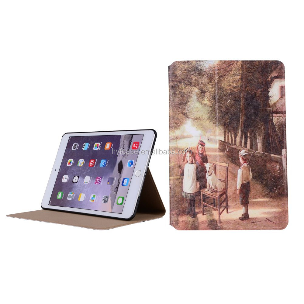 For ipad mini 2 cover, for ipad mini 3 leather cover case,for ipad case
