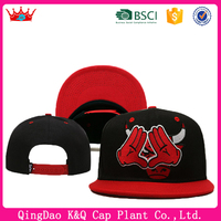 Lower Price Flat Brim 6 panels Adjustable Stock Available Snapback Hat Cap Paypal