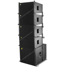 TW audio loudspeaker Vera <strong>10</strong> line array speaker <strong>system</strong> <strong>10</strong> inch LF +2 <strong>x</strong> 1.75 driver professional speakers