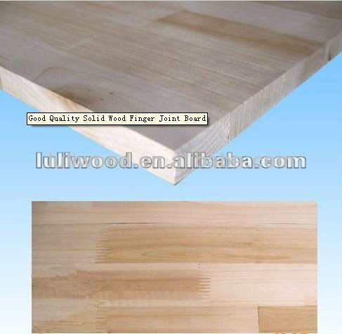 1220*2440mm Chile radiata pine finger joint board from LuLi Group