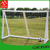 Hot Sale Fire-retardant PU Inflatable Football Goal for Kids