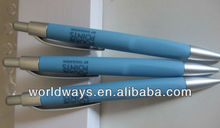 Chinese advertising plastic ballpen, ball point pen wholesale, ball ball pen