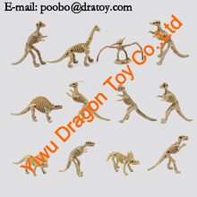 collect 12 styles toy dinosaur model skeleton