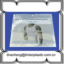 Foodsafety 100% virgin material clear zip lock plastic bag/shopping bag/clothes bag