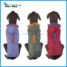 Waterproof reflective Popular pet raincoats for large dogs