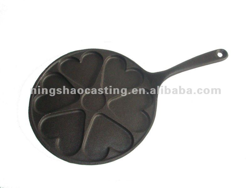 cast iron preseasoned muffin pan