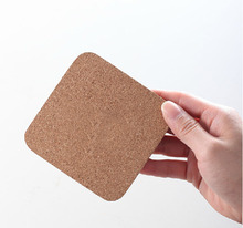 Square Cork Drink Coasters Tea Coffee Cup Mat Kitchen Table Pad Tableware